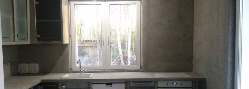 Дизайн не для всех: реальный бетонный интерьер в монолитном доме